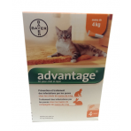 Spot-On Antiparasitaire Chat - ADVANTAGE®