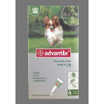 ADVANTIX 4 PIPETTES